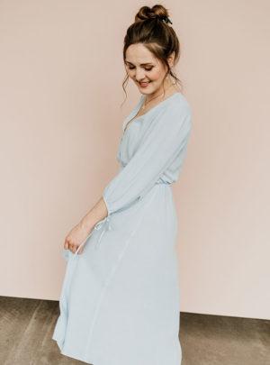 Brautjungfernkleid Ellen hellblau