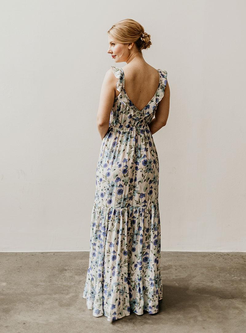 Brautjungfernkleid Lilly blau