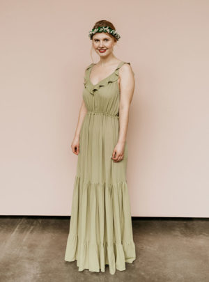 Brautjungfernkleid Lilly grün